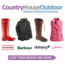 Hunter, Barbour, Dubarry and Joules at Country House Outdoor